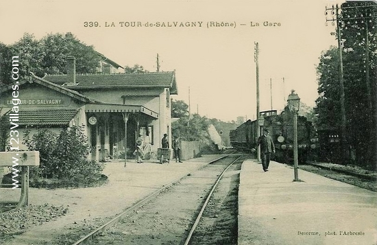 Carte postale de La Tour-de-Salvagny