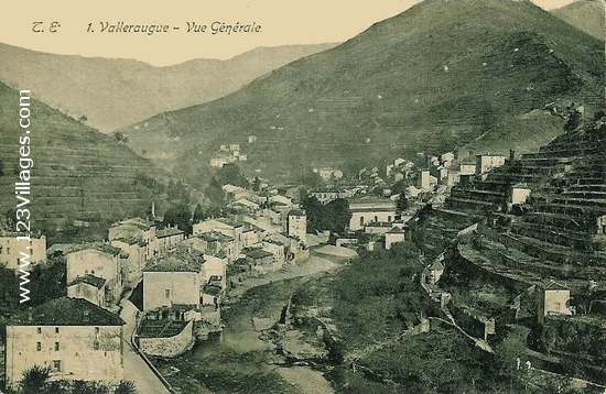Carte postale de Valleraugue