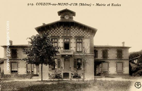 Carte postale de Couzon-au-Mont-d'Or