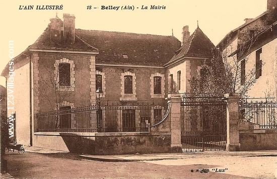 Carte postale de Belley