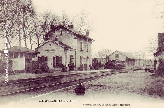 Carte postale de Vallon-en-Sully