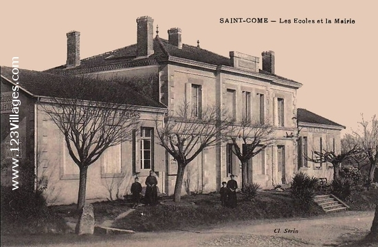 Carte postale de Saint-Come-d Olt