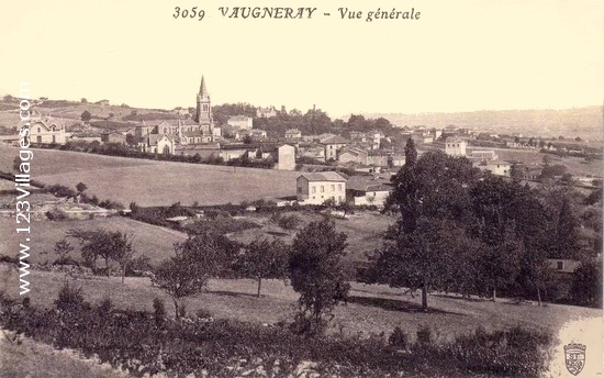 Carte postale de Vaugneray