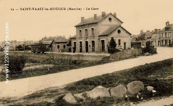 Carte postale de Saint-Vaast-la-Hougue