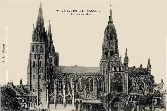 Carte postale de Bayeux
